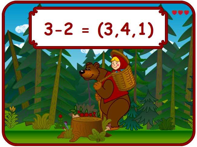 Игра Весёлая математика онлайн