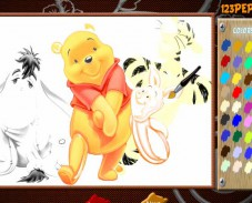 Игра Весёлый Винни Пух онлайн