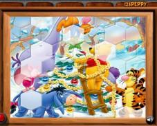Игра Винни наряжает елочку онлайн