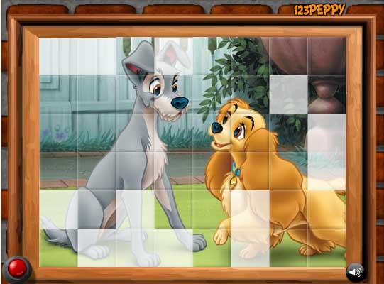 Игра Влюбленные псы онлайн
