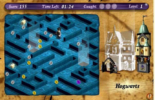 Игра Гарри Поттер Лего онлайн