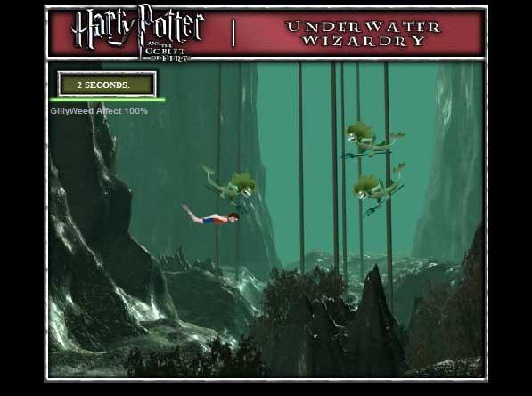 Игра Гарри Поттер против русалок онлайн