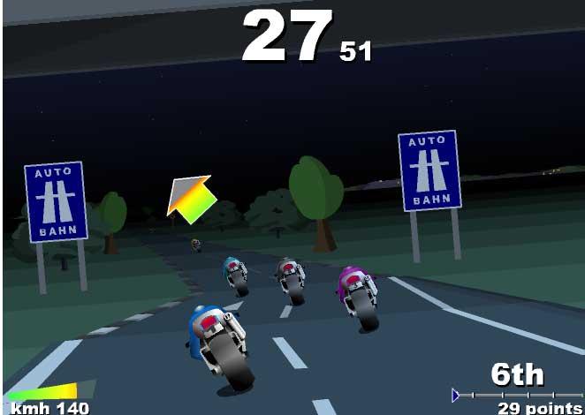 Игра Гонки на мотоциклах (супербайк) онлайн
