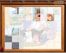 Игра Гриффины Упорядочить плитки онлайн