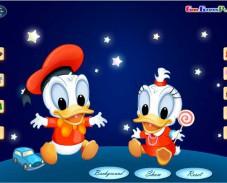 Игра Детство Дональда и Дейзи онлайн
