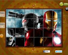 Игра Железный человек пазл онлайн