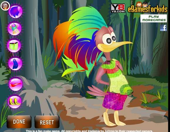 Игра Загадочная птица онлайн