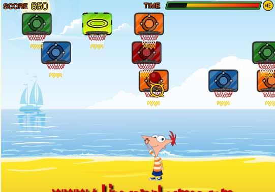 Игра Заядлый баскетболист онлайн
