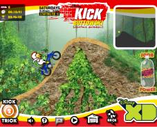 Игра Кик Бутовский в бесбашенных гонках онлайн