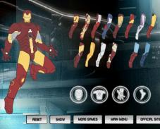 Игра Пазл Костюм железного человека онлайн