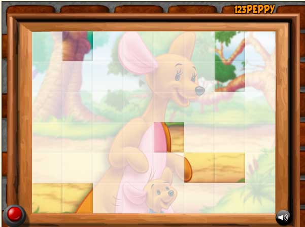 Игра Крошка Ру и Кенга онлайн