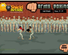 Игра Крутой армейский бокс онлайн