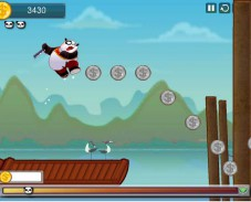 Игра Кунг Фу Панда на отдыхе онлайн