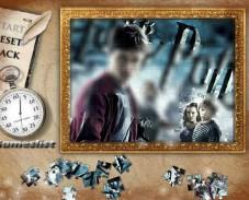 Игра Магические пазлы Гарри Поттера онлайн