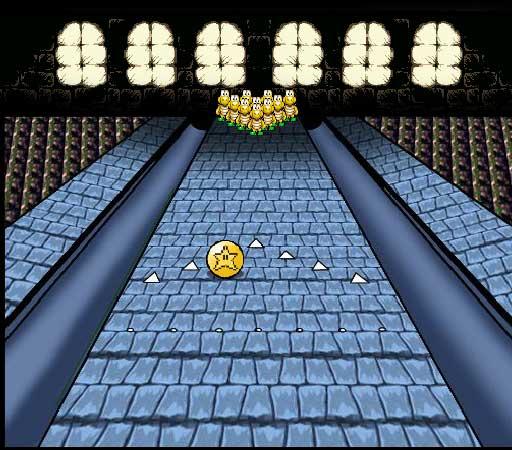 Игра Марио Боулинг в замке онлайн