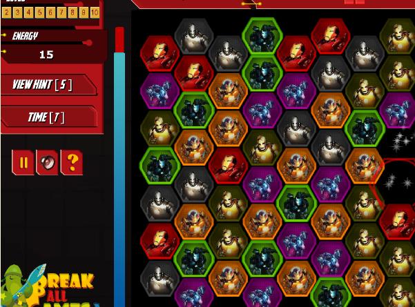 Игра Матч с Айронмэном онлайн