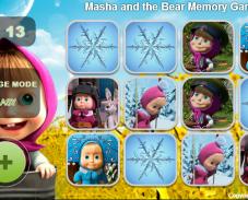 Игра Маша и медведь игра на память онлайн