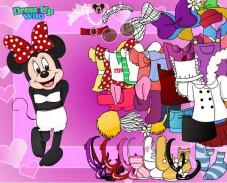 Игра Микки Маус одевается онлайн