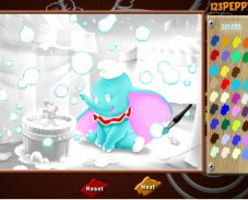 Игра Милый слоненок Дамбо онлайн