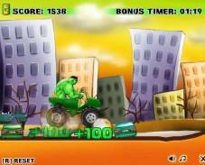 Игра Мощное авто Халка онлайн