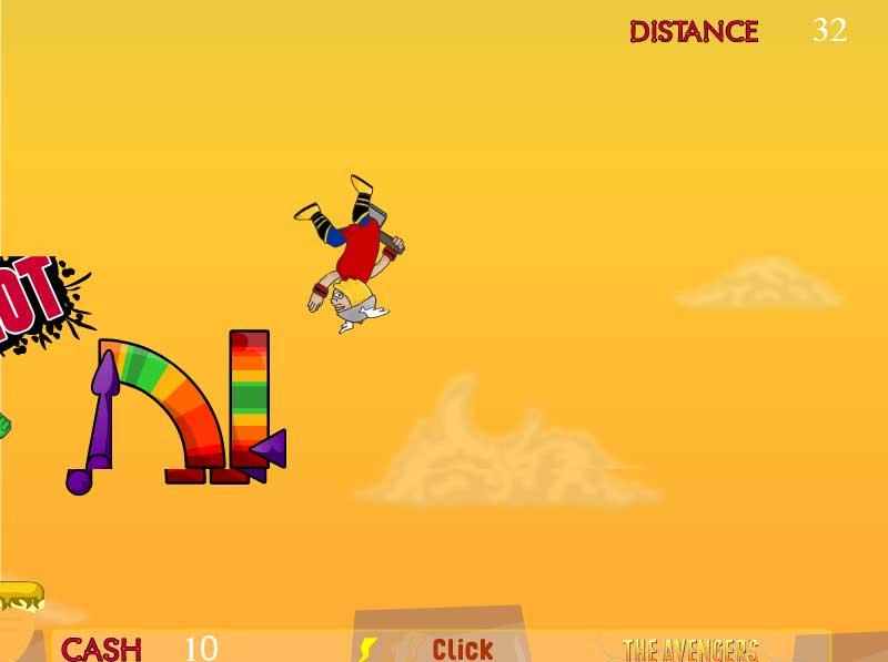 Игра Мощный удар Халка онлайн