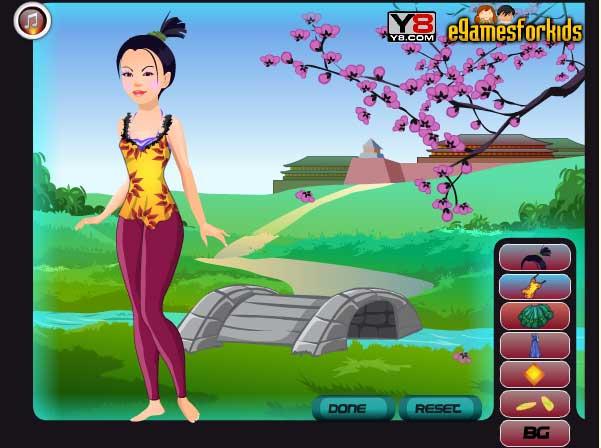 Игра Настоящая Мулан онлайн