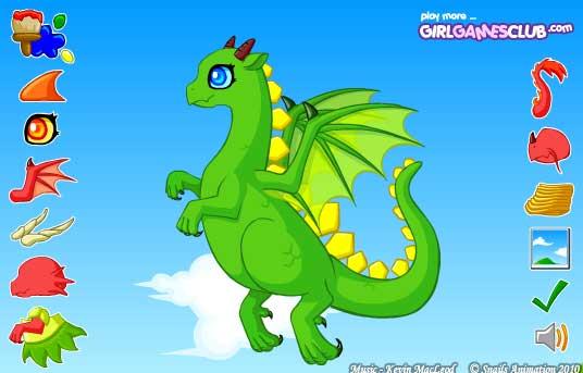 Игра Очаровательный образ дракона онлайн