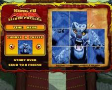 Игра Паззл Кунг Фу Панда онлайн