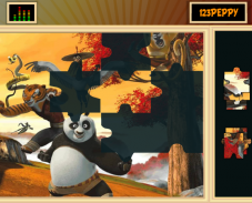 Игра Пазл Кунг-фу панда 2 онлайн