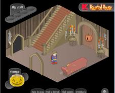 Игра Побег из дома с привидениями онлайн