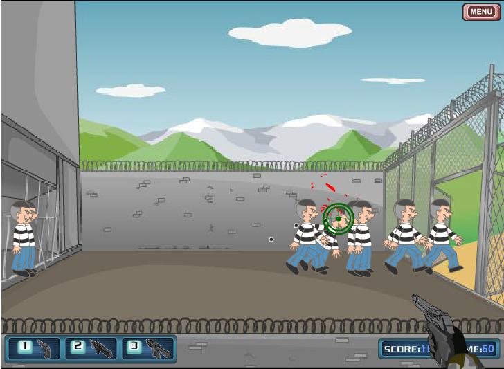 Игра Побег из тюрьмы 2 онлайн