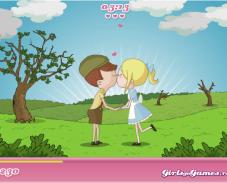 Игра Поцелуйчики онлайн