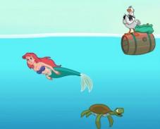 Игра Приключения русалочки онлайн
