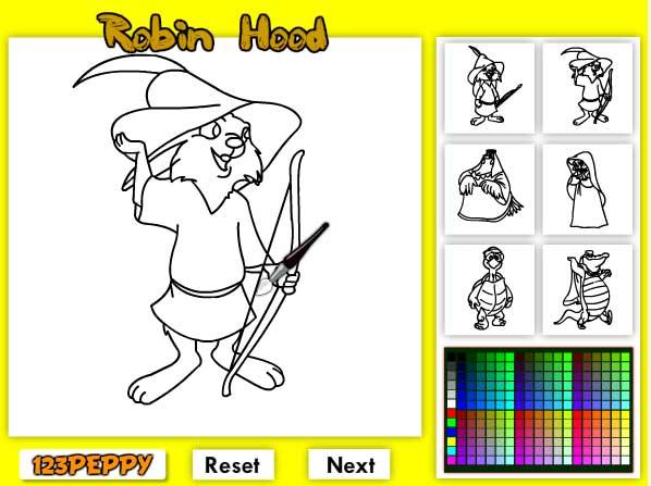 Игра Робин Гуд и его друзья онлайн
