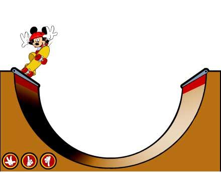 Игра Скейборд Микки Маус онлайн