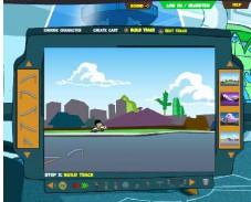 Игра Скоростная горка Фитнеса и Ферба онлайн