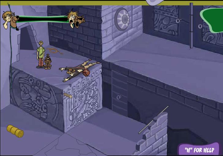 Игра Скуби Ду Храм потерянных душ онлайн