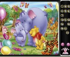 Игра Слоненок в гостях у Винни онлайн