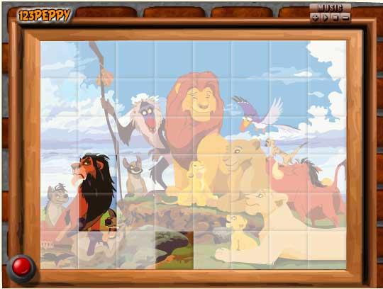 Игра Стая короля Льва онлайн