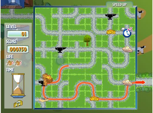 Игра Том и Джерри Погоня за Джерри онлайн