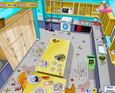 Игра Уборка на кухне онлайн