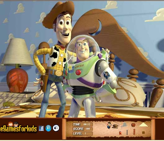 Игра Увлекательная история игрушек онлайн