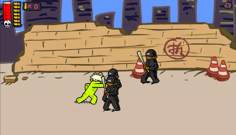 Игра Уличная драка 2 онлайн