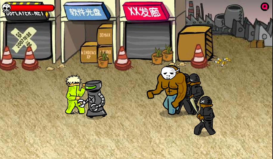 Игра Уличная драка 3 онлайн