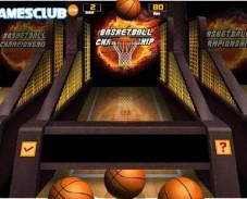 Игра Уникальный чемпионат по баскетболу онлайн
