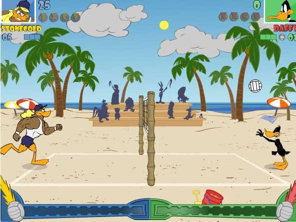 Игра Утиный волейбол онлайн