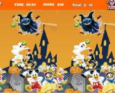 Игра Фестиваль Хэллоуина — Найди различия онлайн