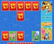 Игра Фиксики. Тест памяти онлайн
