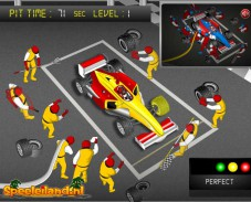 Игра Ф1 Питстоп онлайн