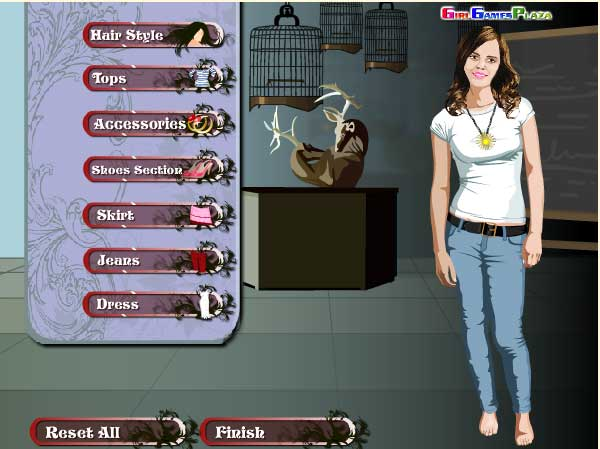 Игра Эмма из Гарри Поттера онлайн